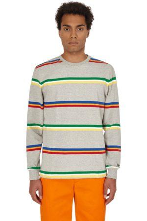 Noah NYC Triple stripe longsleeve t-shirt ASH M