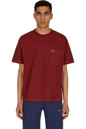 Phipps Pocket t-shirt GARMENT DYE CRIMSON S
