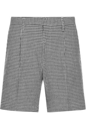 Wacko Maria Gingham check pleated short trousers M