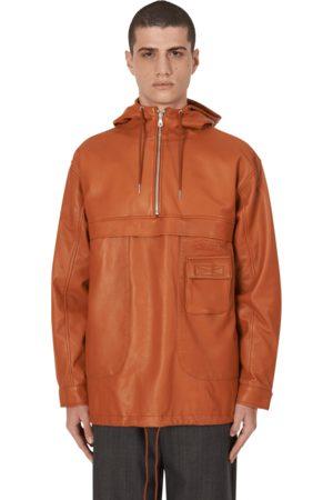 Très Bien Sneeze chesterfield anorak jacket COGNAC S