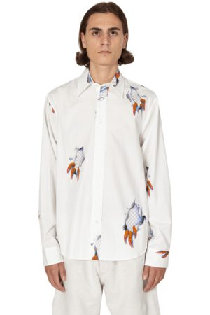 Brain Dead Tier one claw button up shirt S