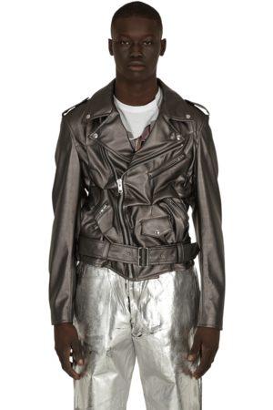 Comme des Garçons Faux leather jacket S