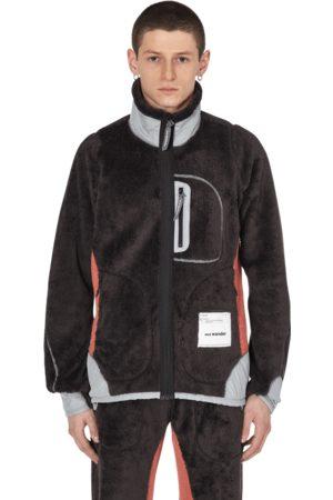 and wander Slam jam high loft polartec fleece jacket CHARCOAL L