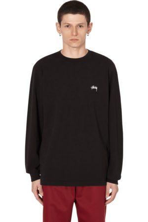 STUSSY Stock logo longsleeve t-shirt S