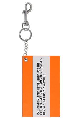 Calvin Klein Est 1978 Logo keychain FLUORO U