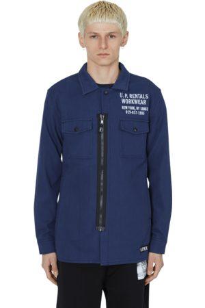 U.P.W.W. Zipped work shirt S