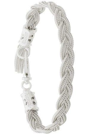 EMANUELE BICOCCHI Woven chain bracelet - Metallic