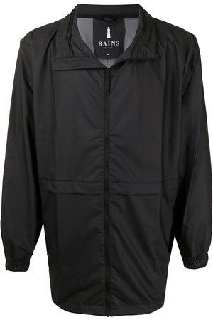 Rains Men Jackets - Stand-up collar zipped lightweight jacket