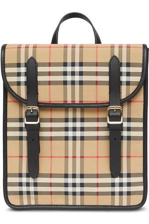 Burberry Girls Rucksacks - Nova check ECONYL® satchel backpack