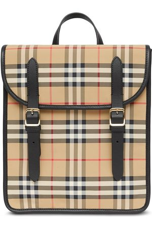Burberry Nova check ECONYL® satchel backpack