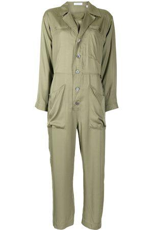 Equipment Almira button-front jumpsuit