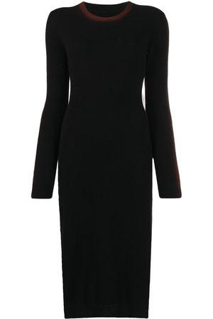 Marni Women Long sleeves - Side-stripe detail long-sleeve dress