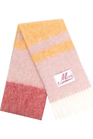Marni Textured striped scarf