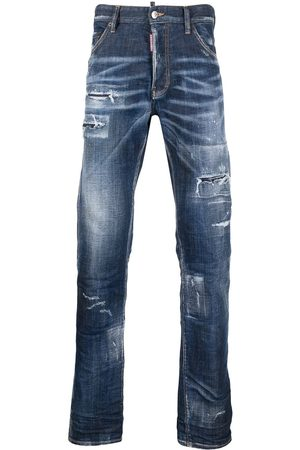 Dsquared2 Men Bootcut - Distressed bootcut jeans