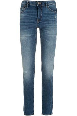 Armani Low-rise straight-leg jeans