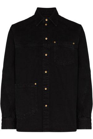TOM WOOD Colby long-sleeve shirt