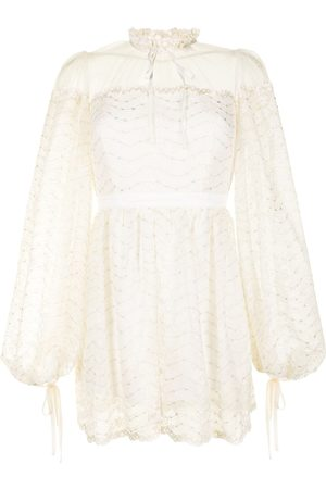 Alice McCall Women Playsuits - Moonstruck lace playsuit