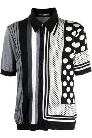Dolce & Gabbana Layered panelled polo shirt