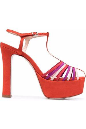 Schutz Roxi suede platform sandals