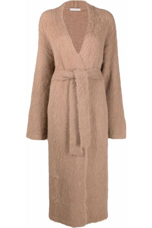 12 STOREEZ Oversized belted cardigan - Neutrals