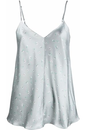 12 STOREEZ Women Camisoles - Satin cami top - Grey