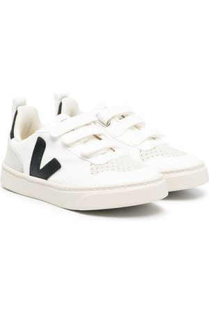 Veja Touch-strap low-top trainers