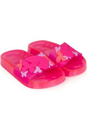 SOPHIA WEBSTER Girls Flat Shoes - Floral-print flat slides