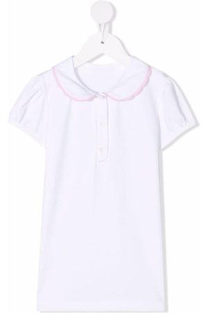 Siola Contrast-trim cotton blouse
