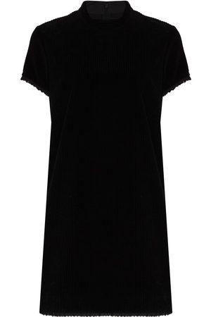 Marc Jacobs Women Mini Dresses - Short-sleeve corduroy minidress