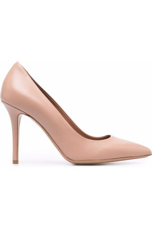 Emporio Armani Pointed-toe stiletto pumps - Neutrals