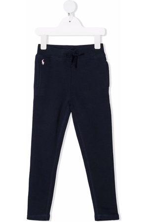 Ralph Lauren Girls Sweatpants - Polo Pony cotton track trousers