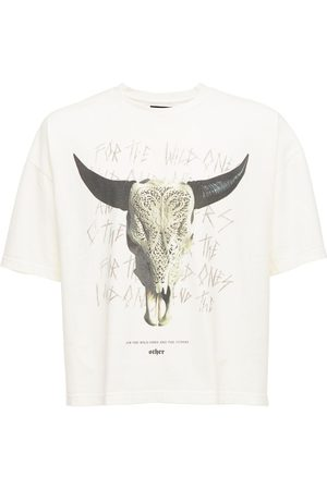 The Other Cow Skull Printed Cotton T-shirt