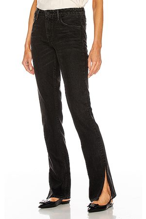 GRLFRND Women Boots - Hailey Low Rise Slim Boot in Black