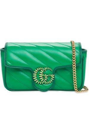Gucci Gg Marmont Matelassé Super Mini Bag