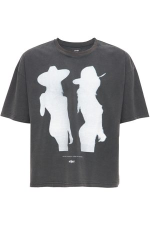 The Other Cowgirl Printed Cotton T-shirt