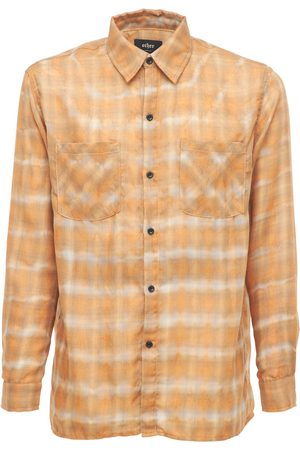 The Other Faded Check Rayon Shirt