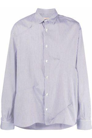 CORELATE Men Shirts - Gathered-detail shirt