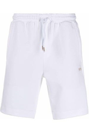 HUGO BOSS Men Sports Shorts - Straight-leg track shorts