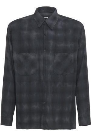 The Other Tie Dye Rayon Flannel Shirt