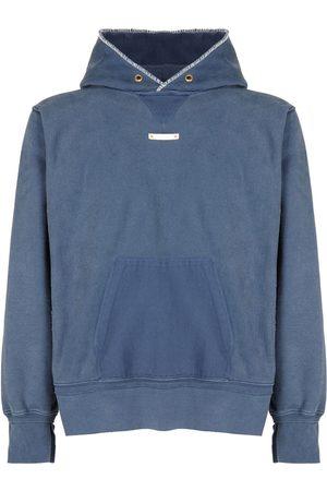 Maison Margiela Vintage Dyed Cotton Hooded Sweater