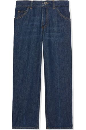 Gucci Freya Hartas-embroidered jeans