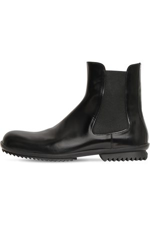 Maison Margiela Brushed Leather Chelsea Boots