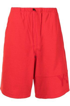Y-3 Knee-length drawstring shorts
