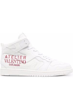 VALENTINO GARAVANI Men Sneakers - Logo-print high-top sneakers