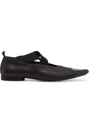 UMA WANG Cut-out leather ballerinas