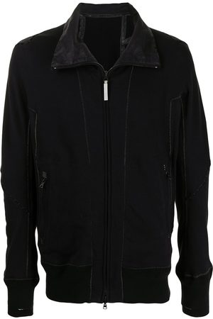 ISAAC SELLAM EXPERIENCE Funnel neck zip-up jacket
