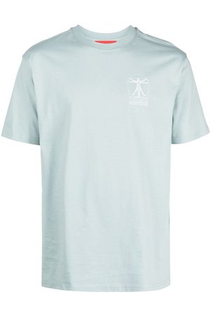 032c Logo print cotton T-shirt