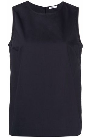 P.a.r.o.s.h. Cotton sleeveless blouse