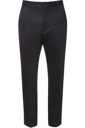 Dsquared2 Men Pants - Pleat Wool Flannel Pants