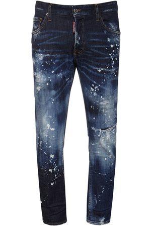 Dsquared2 Men Jeans - 16cm Skater Cotton Denim Jeans